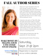AUTHOR VISIT: Make Money By Selling Your Unwanted Stuff Online with Deb Colameta