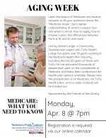 AGING WEEK: Medicare -- What You Need To Know