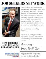 TEWKSBURY JOB SEEKERS NETWORK: How To Build Career-Making Relationships