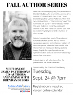 AUTHOR VISIT: Meet One Of James Patterson's Co-Authors! An Evening with Brendan DuBois