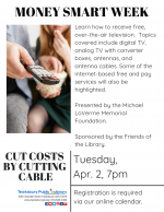 MONEY SMART WEEK: Cut Costs By Cutting Cable