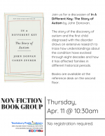 Non-Fiction Book Group: In A Different Key: The Story of Autism