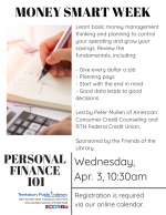 MONEY SMART WEEK: Personal Finance 101