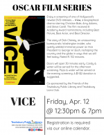 Film Screening: Vice