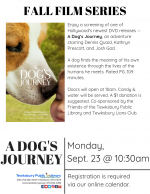 FILM SCREENING: A Dog's Journey