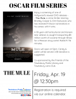Film Screening: The Mule