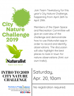 Introduction To iNaturalist City Nature Challenge