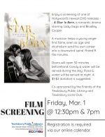 Film Screening: A Star Is Born