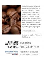 The Art Of Coffee Tasting