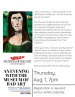 An Evening with The Museum Of Bad Art