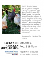 Backyard Chicken (Hen) Basics In Tewksbury