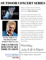 OUTDOOR CONCERT SERIES: The Ultimate Tribute To Rod Stewart