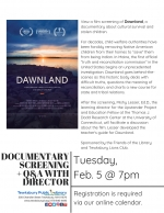 Film Screening of 'Dawnland' and Q&A with Director