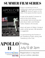 Film Screening: Apollo 11
