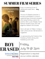 Film Screening: Boy Erased