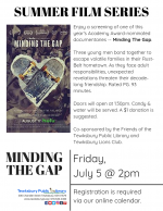 POSTPONED -- Film Screening: Minding The Gap