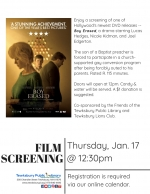 BONUS Film Screening: Boy Erased