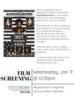BONUS Film Screening: BlacKkKlansman