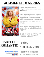 Film Screening: Isn't It Romantic