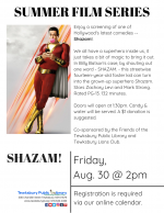 Film Screening: Shazam!