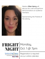 Fright Night: An Evening with Medium Ellen Henry