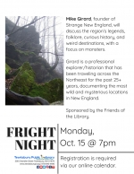 Fright Night: Monsters & Legends of New England