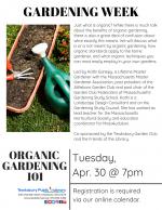 GARDENING WEEK: Organic Gardening 101