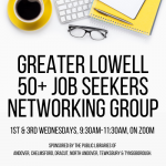 VIRTUAL PROGRAM: 50+ Job Seekers Networking Group of Greater Lowell