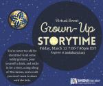 VIRTUAL PROGRAM: Grown-Up Storytime