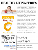 HEALTHY LIVING SERIES: How To Eat Healthier & Still Enjoy Food