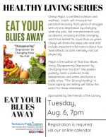 HEALTHY LIVING SERIES: Eat Your Blues Away