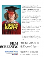 Film Screening: Life of the Party