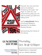 Lunchtime Lecture: Fraud Prevention With The Better Business Bureau