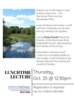 Lunchtime Lecture: Help The Merrimack & Shawsheen Rivers