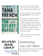 The Armchair Detectives Mystery Book Group: The Secret Place