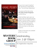 The Armchair Detectives Mystery Book Group: The Cater Street Hangman