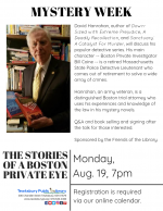MYSTERY WEEK: The Stories Of A Boston Private Eye
