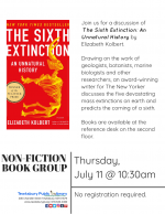 Non-Fiction Book Group: The Sixth Extinction