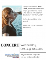 Morning Concert: Nora Tirrell