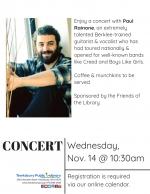 Morning Concert: Paul Rainone