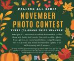Monthly photo contest
