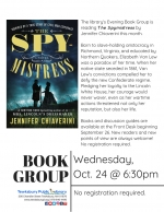 Evening Book Group Meeting: The Spymistress