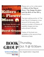 Non-Fiction Book Group: Killers of the Flower Moon