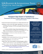 Tewksbury Passport Day