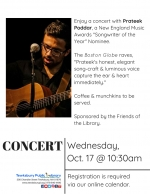 Morning Concert: Prateek Poddar