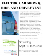 Tewksbury Electric Car Show and Ride & Drive Event