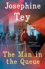 VIRTUAL PROGRAM: The Armchair Detectives Mystery Book Group -- The Man in the Queue