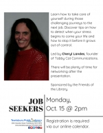 Tewksbury Job Seekers Network: How To Handle Stress During The Search