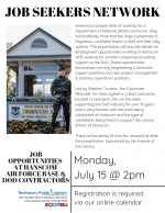 Tewksbury Job Seekers Network:  Job Opportunities At Hanscom Air Force Base & DoD Contractors