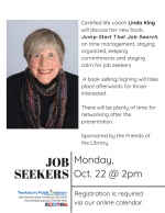 Tewksbury Job Seekers Network: How To Manage Your Time & Organize Your Search